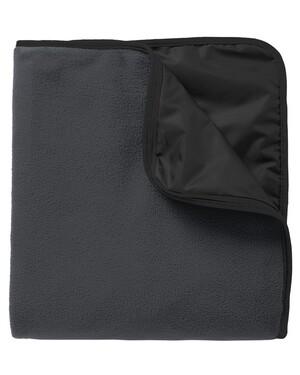 Fleece & Poly Travel Blanket.