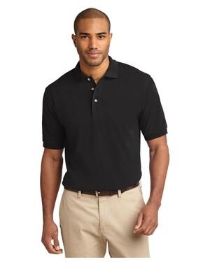 Tall Pique Knit Polo Shirt