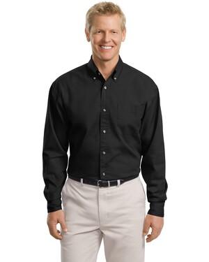 Tall Long Sleeve Twill Shirt.