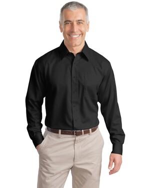 Tall Long Sleeve Non-Iron Twill Shirt