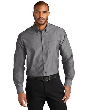 Long Sleeve Chambray Easy Care Shirt