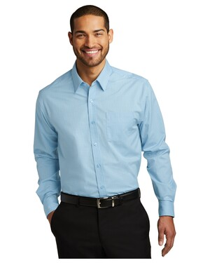 Micro Tattersall Easy Care Shirt