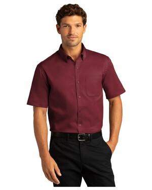 Short Sleeve SuperPro React Twill Shirt.