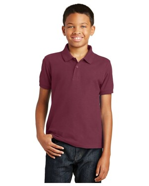 Youth Core Classic Pique Polo Shirt