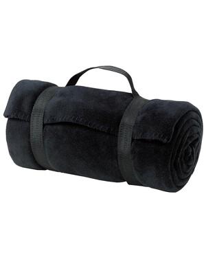 Value Fleece Blanket with Strap.
