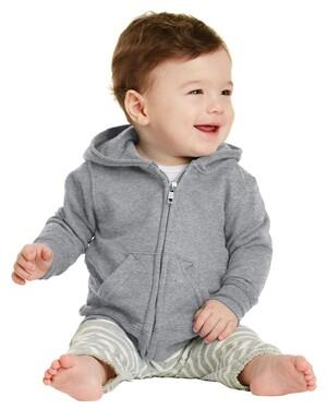 Infant Full-Zip Hoodie.
