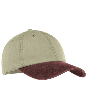 Two-Tone Pigment-Dyed Cap.