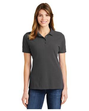 Ladies Ring Spun Pique Polo Shirt