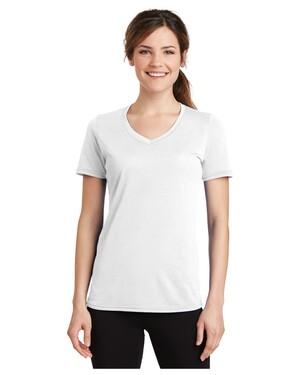 Ladies Essential Blended Performance V-Neck T-Shirt