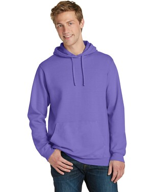 Essential Pigment-Dyed Pullover Hooded Sweatshirt.