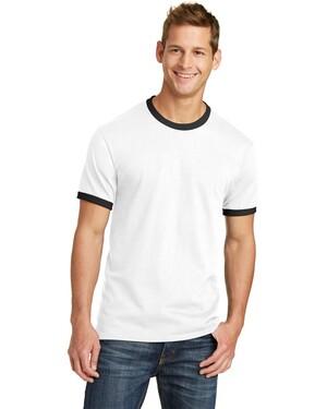 5.4-Oz 100% Cotton Ringer T-Shirt