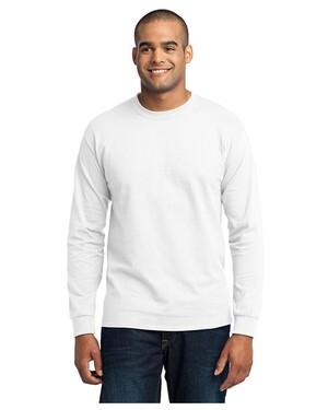 Tall Long Sleeve 50/50 Cotton/Poly T-Shirt