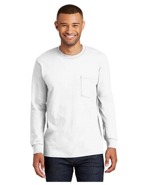 Long Sleeve Essential T-Shirt with Pocket.