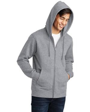 Fan Favorite Fleece Full-Zip Hooded Sweatshirt.