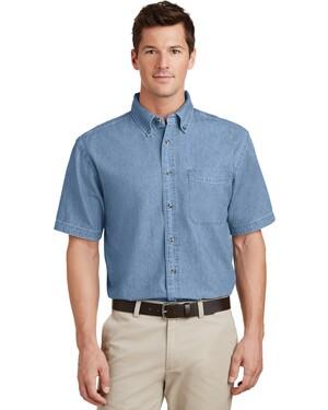Short Sleeve Value Denim Shirt.