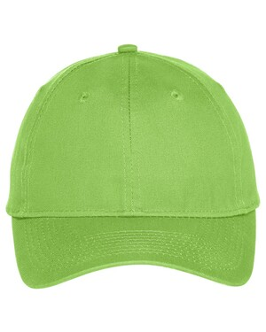 Youth Six-Panel Unstructured Twill Hat
