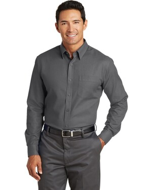 Non-Iron Diamond Dobby Shirt.