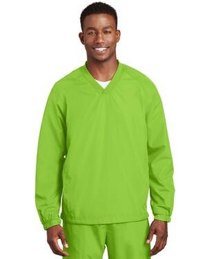 V-Neck Raglan Wind Shirt.