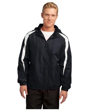 Fleece-Lined Colorblock Jacket.
