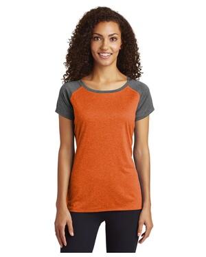 Women's Heather-On-Heather Contender  Scoop Neck T-Shirt