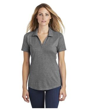 Ladies PosiCharge Tri-Blend Wicking Polo Shirt