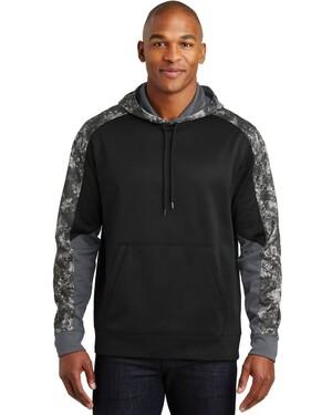 Sport-Wick  Mineral Freeze Fleece Colorblock Hoodie