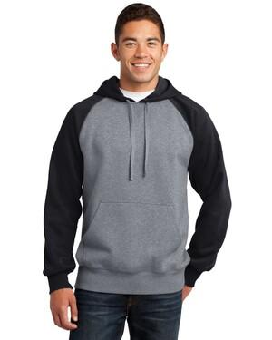 Raglan Colorblock Pullover Hoodie