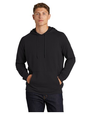 Lightweight French Terry Pullover Hoodie.