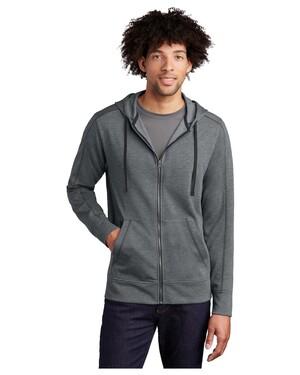 PosiCharge Tri-Blend Wicking Fleece Full-Zip Hoodie