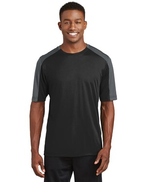 PosiCharge  Competitor Sleeve-Blocked T-Shirt