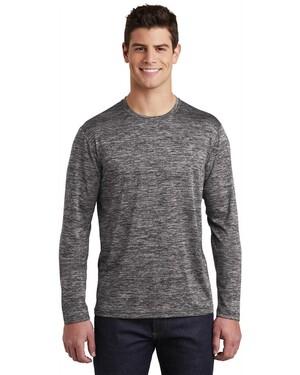 PosiCharge Long Sleeve Electric Heather T-Shirt