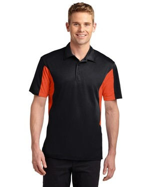 Side Blocked Micropique Sport-Wick Polo Shirt