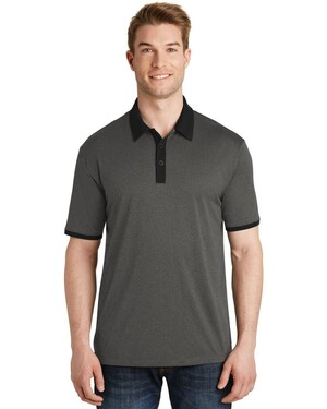 Heather Contender  Contrast Polo Shirt