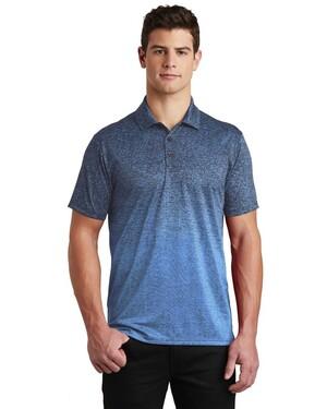 Ombre Heather Polo Shirt