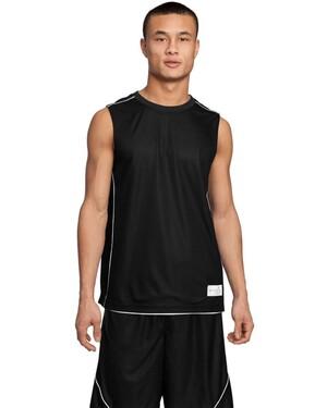 PosiCharge Mesh; Reversible Sleeveless T-Shirt