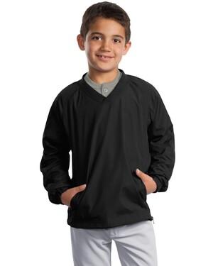 Youth V-Neck Raglan Wind Shirt.