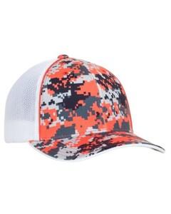 Pacific Headwear 408M Orange