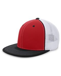 Pacific Headwear 4D5 Red
