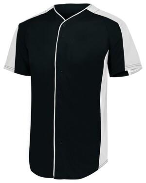 Full-Button Baseball Jersey