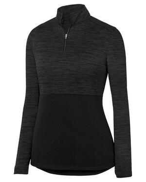 Women's Shadow Tonal Heather Quarter-Zip Pullover