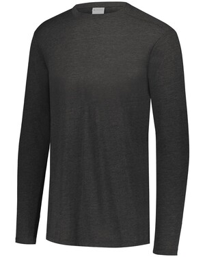 Youth Tri-Blend Long Sleeve Crew