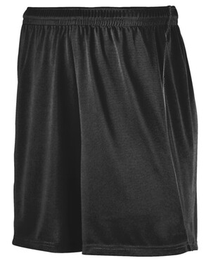 Wicking Soccer Shorts With Piping