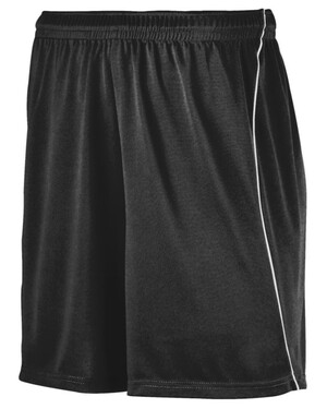 Youth Wicking Soccer Short with Piping