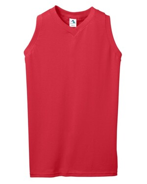 Women's Sleeveless V-Neck Jersey