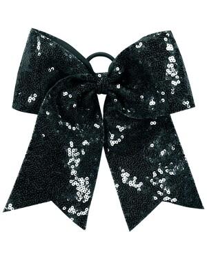 Sequin Cheer Hair Bow