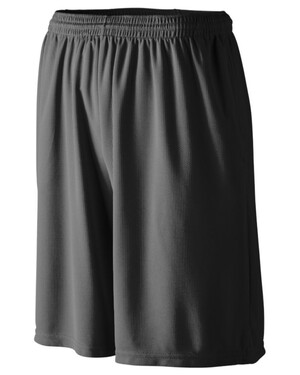 Longer Length Wicking Shorts With Pockets