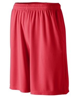 Youth Longer Length Wicking Short with Pockets