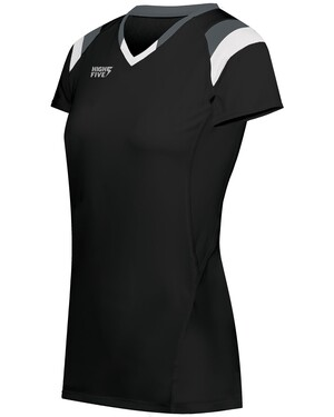 Girls' Truhit Tri-Color Short Sleeve Jersey
