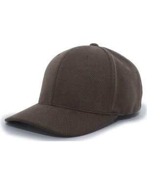 Herringbone Poly/Rayon Flexfit® Cap