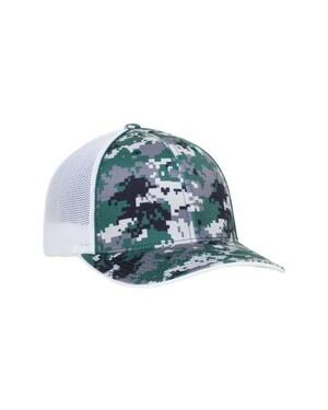 Digi Camo Flexfit Trucker Hat